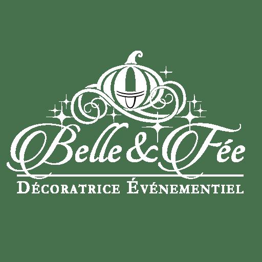 Logo Belle et fée blanc 2