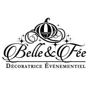 Logo Belle & fée noir