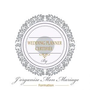logo wedding planner certifiée