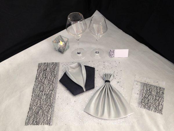 belle et fée coffret décoration de table sur mesure personnalisée sur mesure