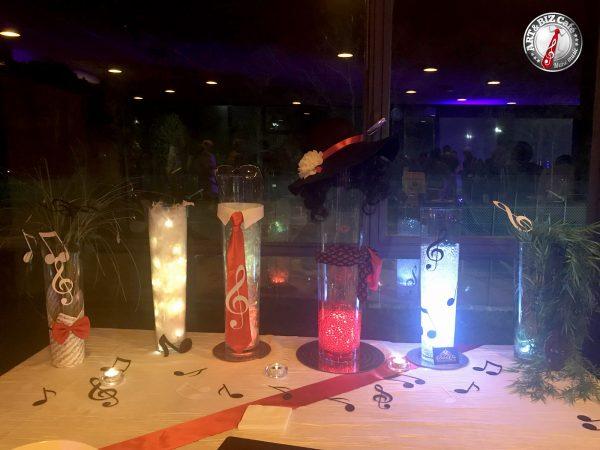 belle et fée décoration personnalisée de buffet pour événements musical art & biz café